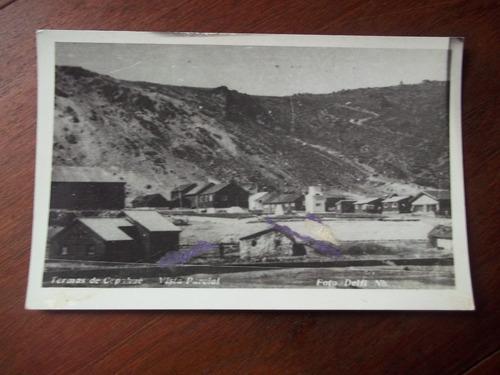 postal antigua argentina termas de copahue en la plata