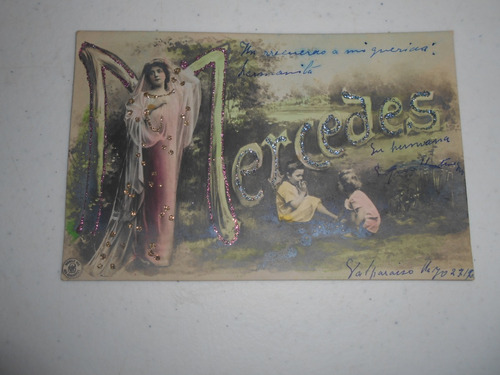 postal antigua de valparaiso; ¿1916?.