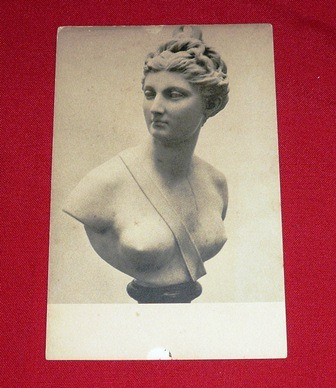 postal antigua diana por houndon gallery art washington b/n
