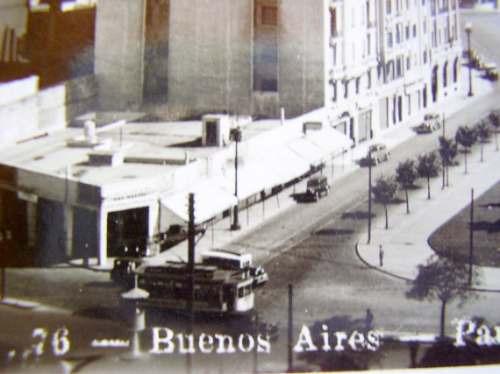postal argentina parque retiro edif. kavanaga 1936