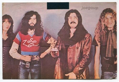 postal artistas de musica rock led zeppelin