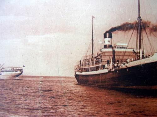 postal barco thisville y formose 1920/30