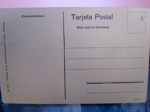 postal campo chileno huaso año 1905 ap