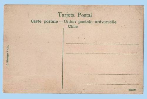 postal cordillera de los andes - juncal.