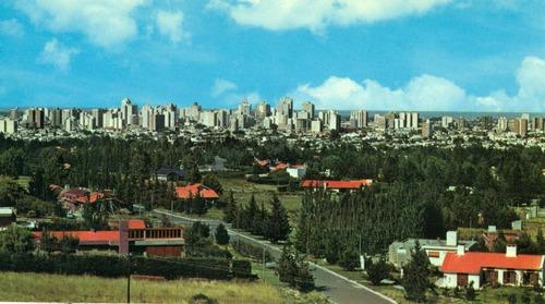 postal de bahìa blanca, vista aérea del barrio palihue