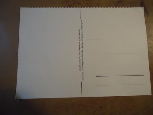 postal del graf zeppelin  (bill)