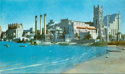 postal del puerto de ingeniero white ( bahìa blanca)