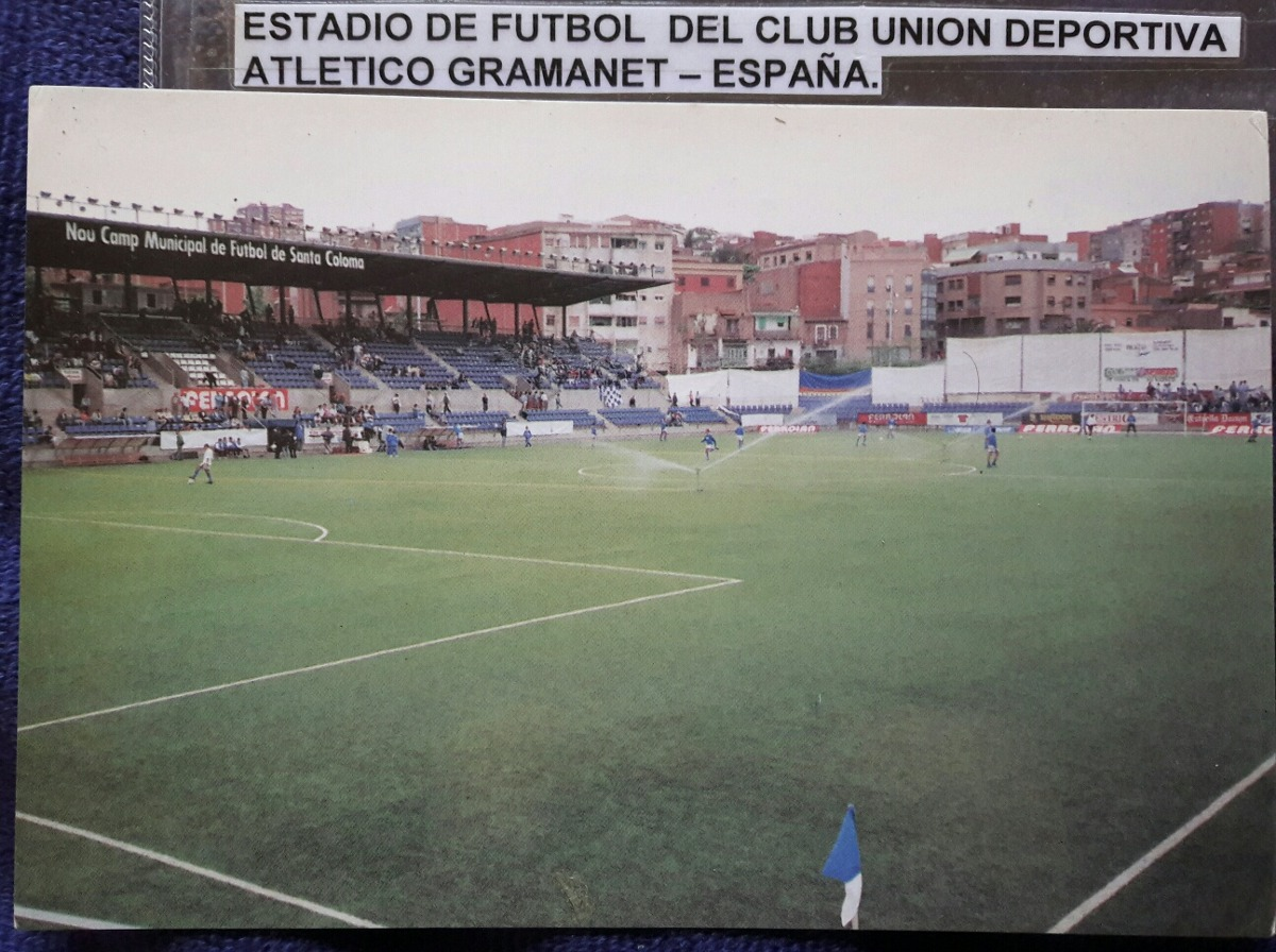 Postal Estadio Del Club De Fútbol Union Esportiva Gramanet -   100 ... 77af65dccba89