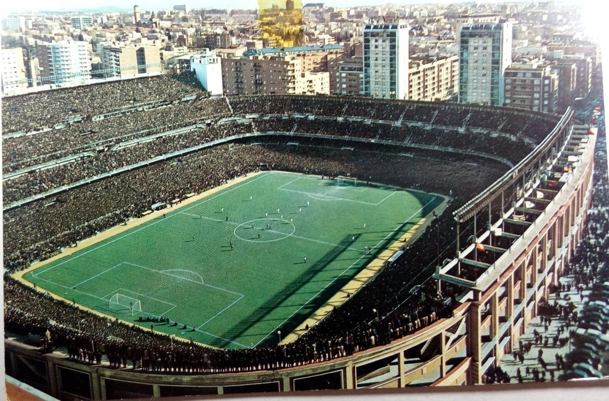 postal estadio santiago bernabeu del real madrid - post 03. Cargando zoom. 8203ee2af602d