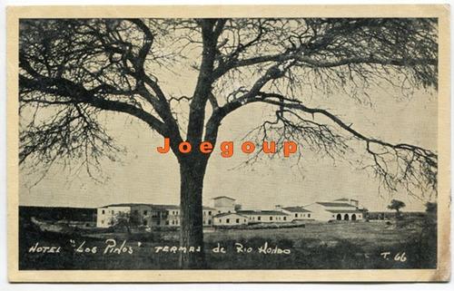 postal hotel los pinos termas rio hondo santiago del estero