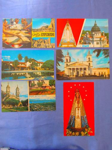 postal iglesia tarjeta