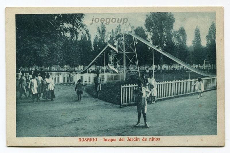 Postal Juegos Del Jardin De Niños Rosario Santa Fe 1922 - $ 80,00 en ...
