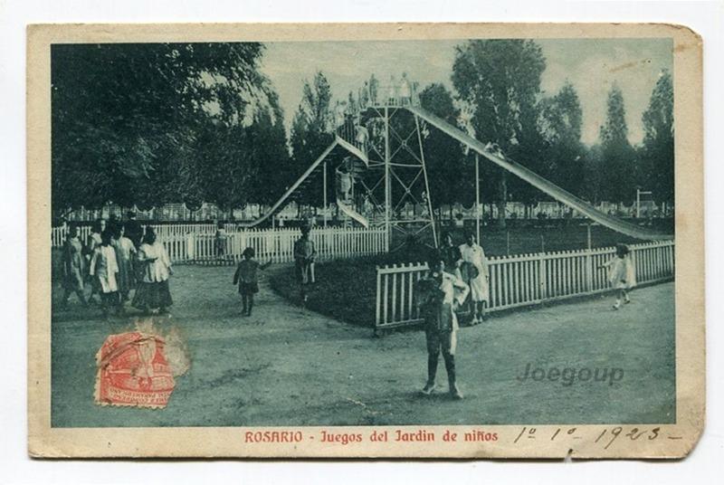 Postal Juegos Del Jardin De Niños Rosario Santa Fe 1923 - $ 70,00 en ...