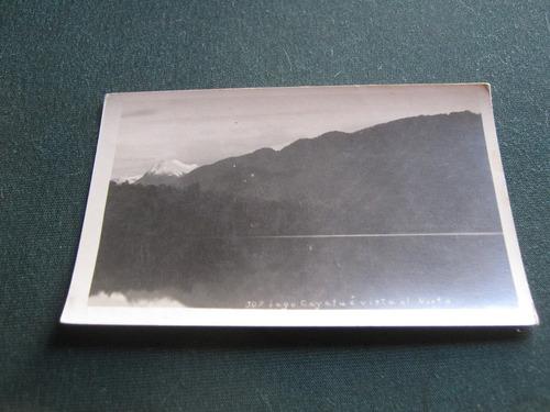 postal   lago cayetua visita al note