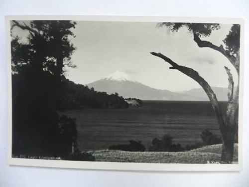 postal lago llanquihue chile. 1959