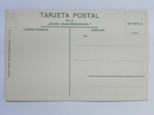postal laguna frias. argentina siglo 20