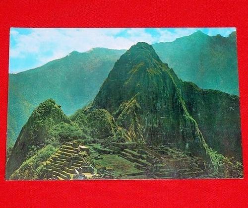postal majestuoso machu picchu edimasa cusco perú incas