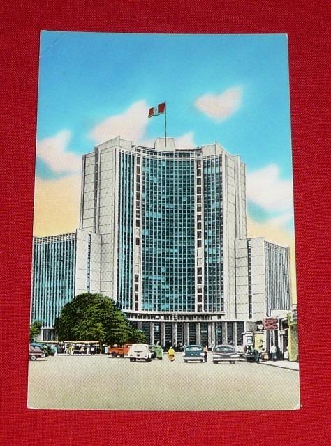 postal ministerio de educación lima antigua foto usa colorea