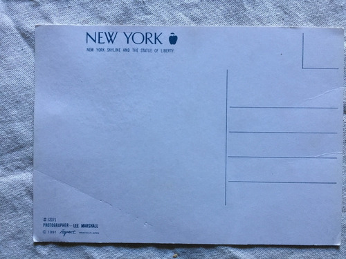 postal new york  año 1991
