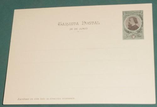 postal postcard entero estatua san martin sepi mitre 1901s/c