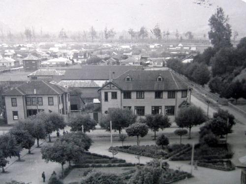 postal puerto aysen panorama 1940