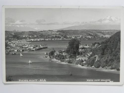 postal puerto montt .chile siglo 20
