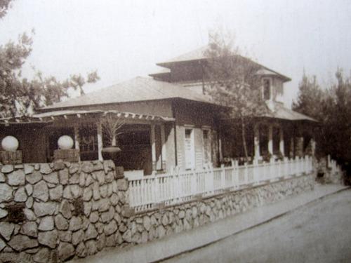 postal quilpue hotel el retiro años 40