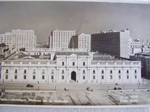 postal santiago la moneda 1943