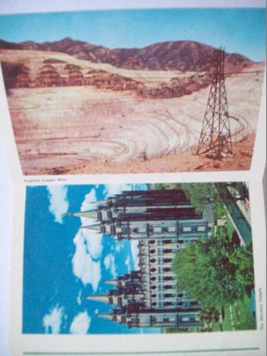 postal utah eeuu 13 antiguas con reseña historica en ingles