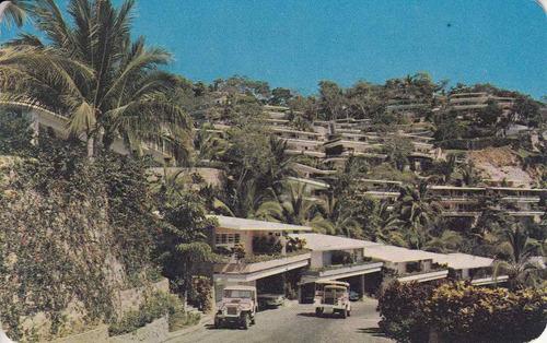 postal vista hotel club las brisas hilton acapulco mexico