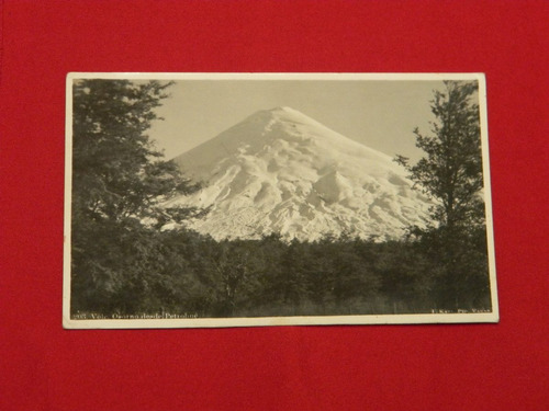postal   volcan osorno desde petrohue