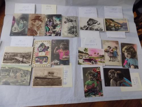 postales antiguas desde 1918 hasta 1985 (2963)