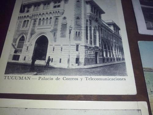 postales antiguas pozos petroleos palacio correos  lote 1