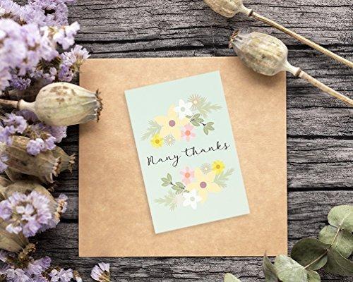 postales de agradecimiento tarjetas 72 count 62 533 en mercado