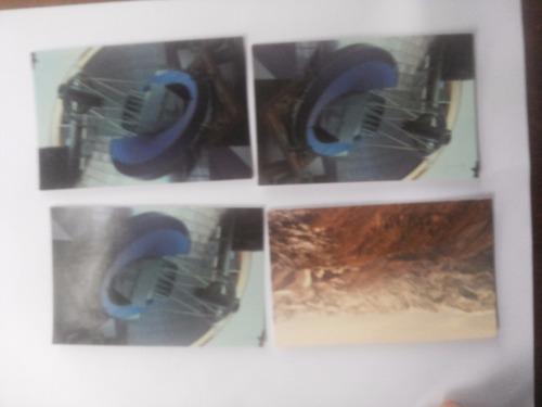 postales de observatorio interamericano cerro tololo. 1975.