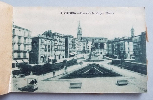 postales de vitoria. librería española. 55127