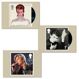 postales edición limitada david bowie londres - importado