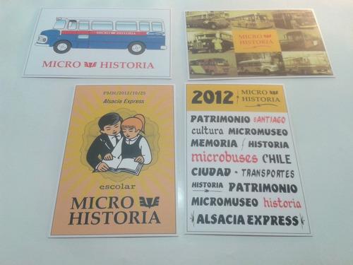 postales micros santiago.(4)