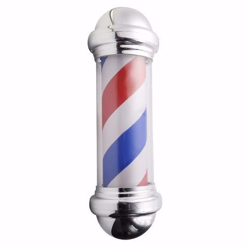 poste barberia peluquería grande 65cm lámpara giratoria