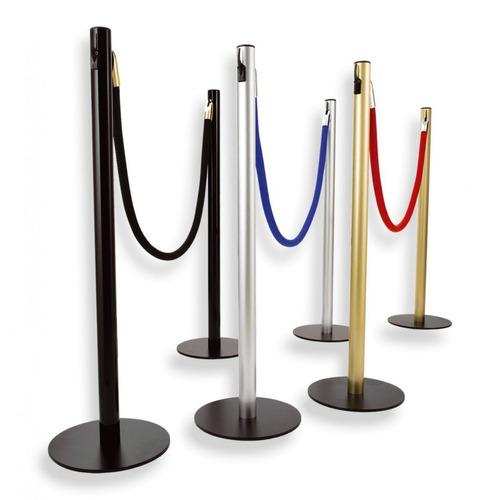 poste mastil separador organizador fila pasamanos red carpet