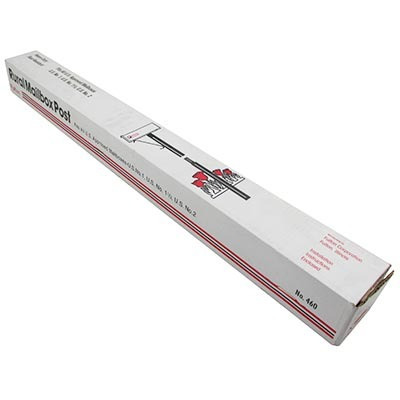 poste metalico p/caja de correo fulton