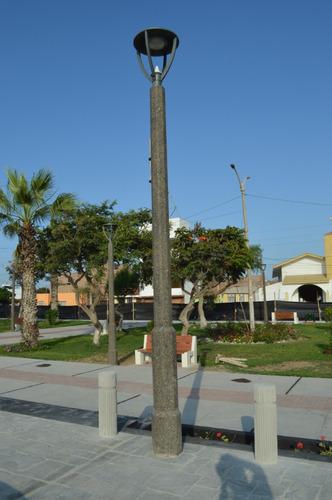 poste ornamental & mobiliario urbano/concreto arquitectónico