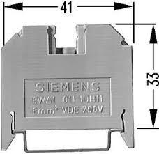 poste p/ conector de passagem - borne   siemens   8 w a1 808