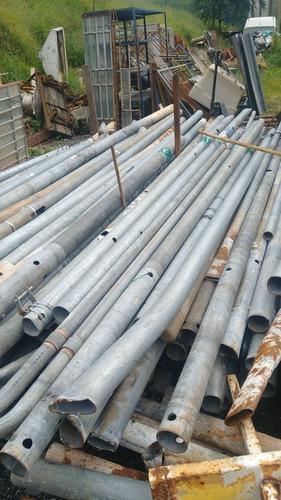 poste tubos galvanizado - 5 metros