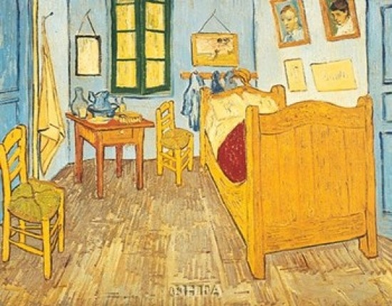 Vincent S Bedroom In Arles Description - Bedroom Design