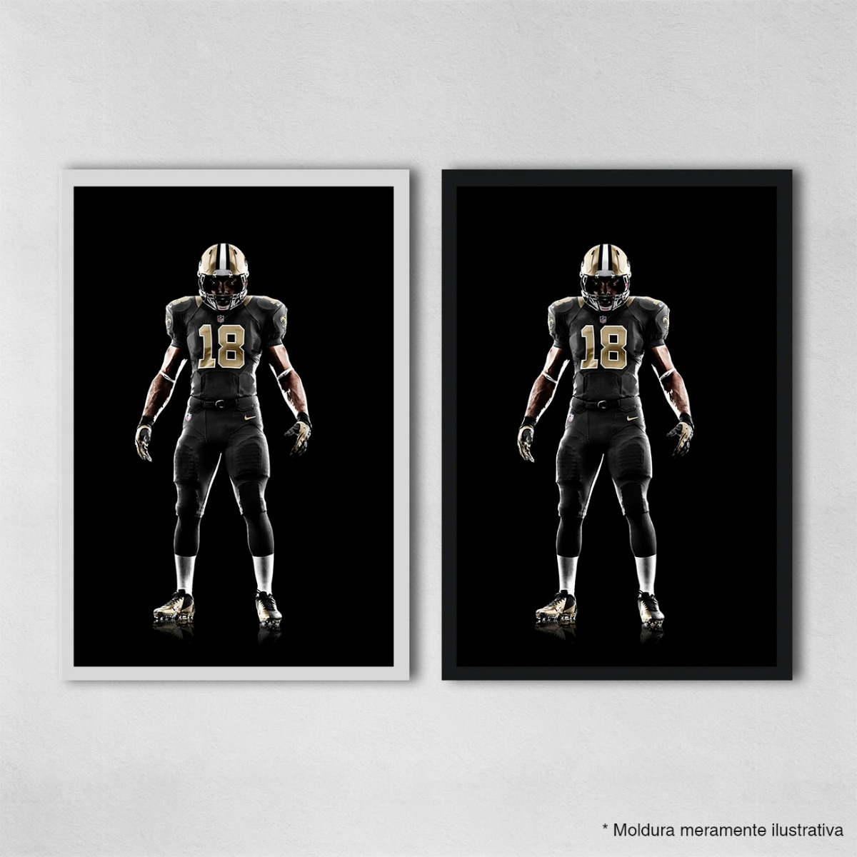 59b5a8760 poster 30x45cm futebol americano nfl new orleans saints 47. Carregando zoom.