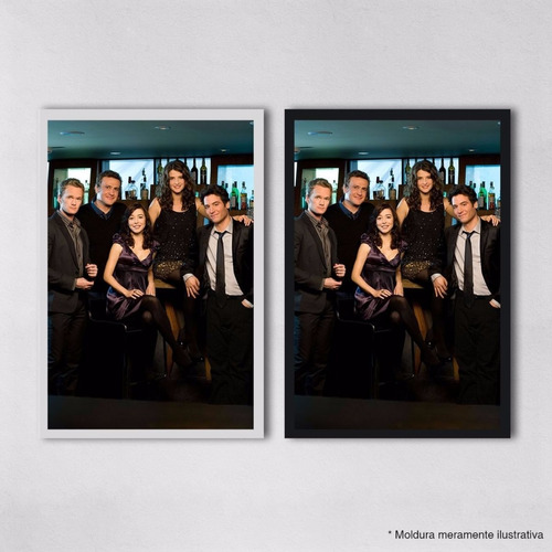 poster 30x45cm series himym how i met your mother