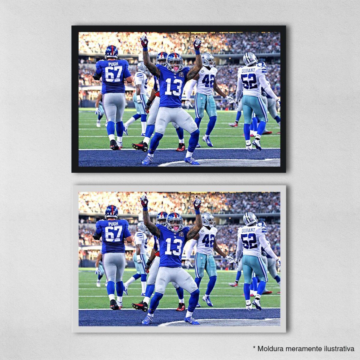 poster 40x60cm futebol americano nfl ny giants 57. Carregando zoom. 306ddd42df3dd