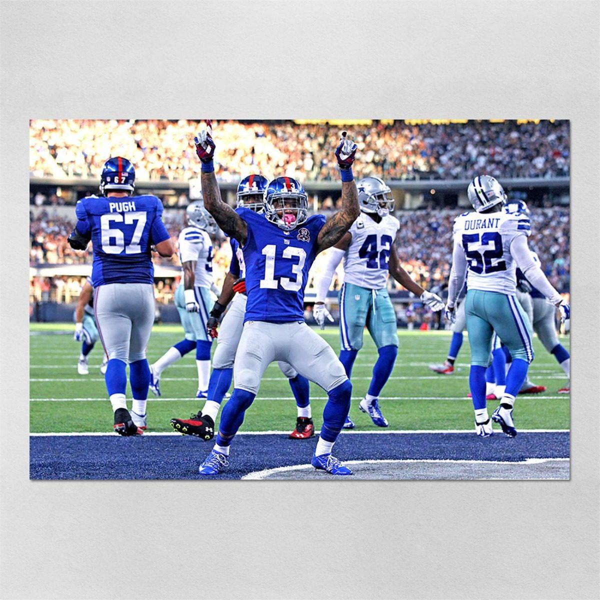 poster 40x60cm futebol americano nfl ny giants 57. Carregando zoom. a17ee20d69c2a