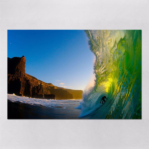 poster 40x60cm imagens surf